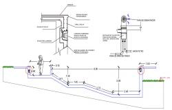 Drainage Drawing AutoCAD File Free