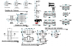 Drainage plan and section layout file