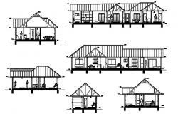 House Design Drawings In DWG File