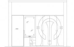 Dressing Cupboard DWG File