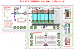 Drinking water plant layout file
