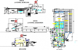Drinking water treatment plant auto-cad details dwg file