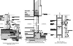 Drop ceiling details dwg file