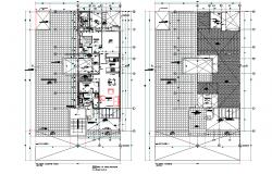 Drywall housing plan layout file