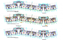 Duplex House plan dwg file