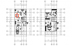 Duplex full project plan layout file