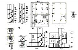 Dwg file of a residential apartment