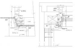 Dwg file of construction detail of ceiling