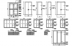 Dwg file of door and windows design