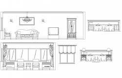 Dwg file of drawing room