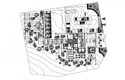 Dwg file of hotel layout