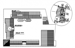 Dwg file of institute layout