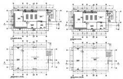 Dwg file of laboratory layout