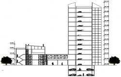 Dwg file of multistorey building design