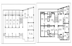 Dwg file of residential apartment layout