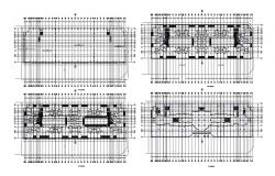 Dwg file of the hotel plan