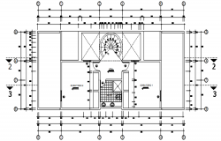 Dwg file of the residential house