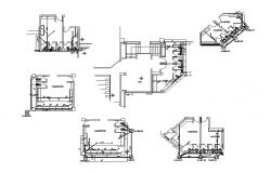 Dwg file of toilet layout of coliseum