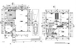 Dwg file residential bunglow