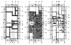 Dwg file residential house layout