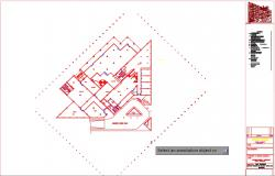 ELECTRIC WORKING FOR BASMENT FLOOR PLAN