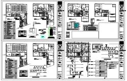 Electric Detail plan lay-out detail