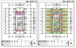 Electric layout design of Shop layout design drawing