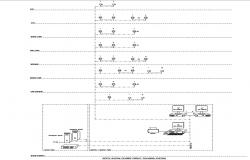 Electric layout plan AutoCAD drawing download