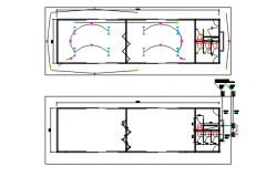 Electric plan detail dwg file