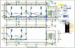 Electric plan layout view detail dwg file