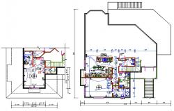 Electrical Layout Plan Of House DWG File