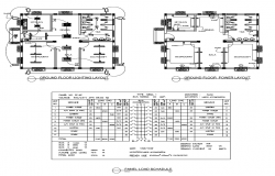 Electrical Layout plan of House