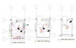 Electrical Lighting Plan Free CAD Drawing