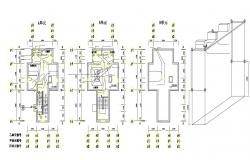 Electrical Room Design CAD Layout Plan