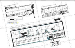 Electrical and working detail dwg file