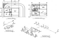 Electrical circuit detail dwg file