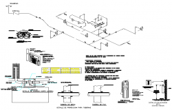 Electrical circuit plan detail