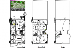 Electrical commercial layout plan detail dwg file