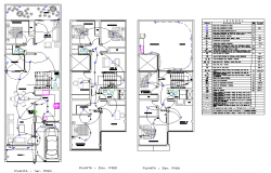 Electrical house plan layout file