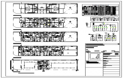 Electrical installation building design drawing