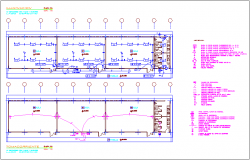 Electrical installation plan of classroom dwg file