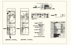 Electrical installation plan of house dwg file