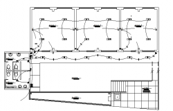 Electrical layout details dwg file