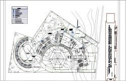 Electrical layout plan details of hotel building cad drawing details dwg file