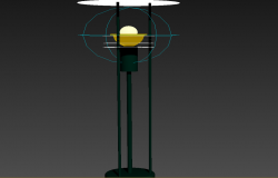 Electrical light detail 3d model layout 3d max file