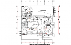 Electrical office plan autocad file