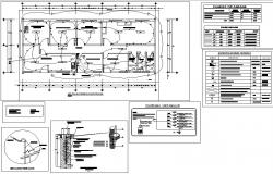 Electrical plan house detail dwg file