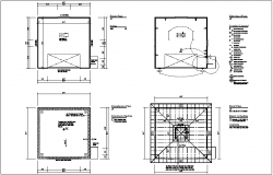 Electrical view of floor plan view with electrical legend dwg file