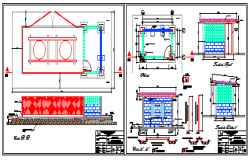 Electricity hut design drawing