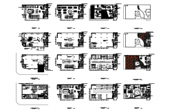 Electronic building center dwg file